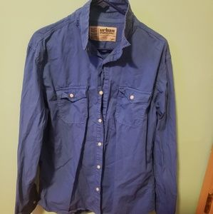Urban Pipeline MENS button up shirt size large